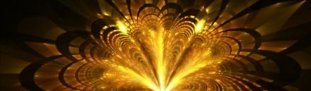 3d-digital-art-golden-sparkling-flower-web-header
