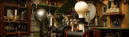 technology-design-with-antique-electric-lab-at-the-early-time