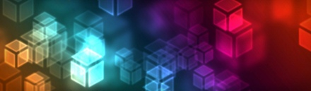 new-technology-background-with-colorful-neon-cubes